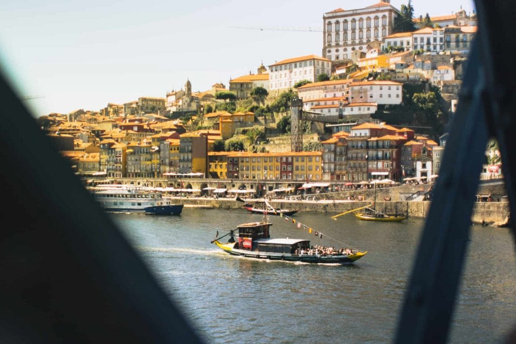 Porto - ribeira and Rabelo boats